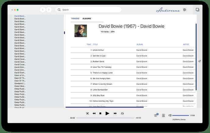 Audirvana Mac Version 3.5.50
