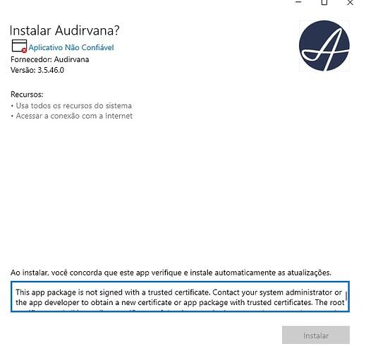 Audirvana Issue