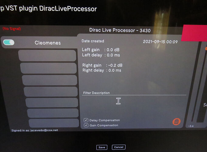 Diirac Live Processor - 3430