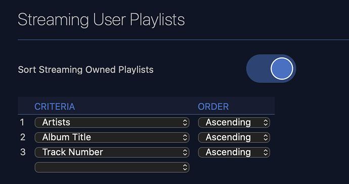 Playlist Streaming